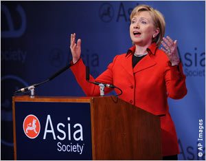 Clinton - Asia Society Feb 13, 2009