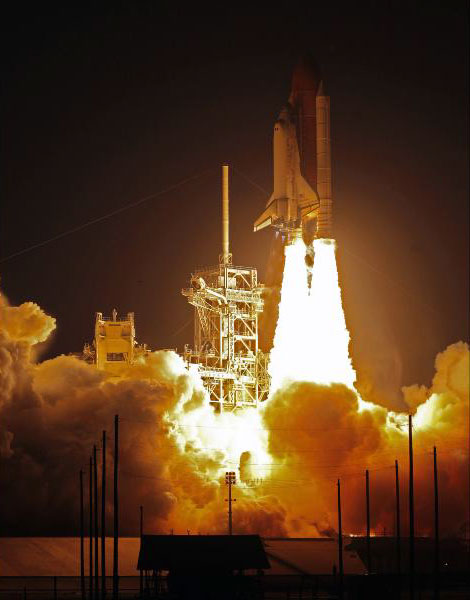 U.S. NASA Discovery STS-119 launched on March 15, 2009