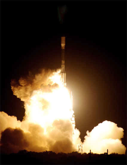kepler launched, March 6, 2009