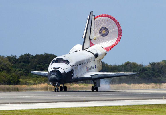 Discovery STS133 landed on March 9, 2011