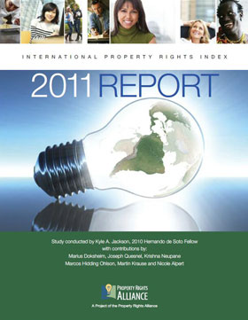 2011年国际产权指数报告(2011 International Property Rights Index)