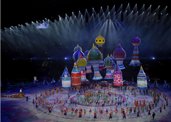 索契2014冬季奧運會開幕式表演 Sochi 2014 Winter Olympic Opening Ceremony Performance
