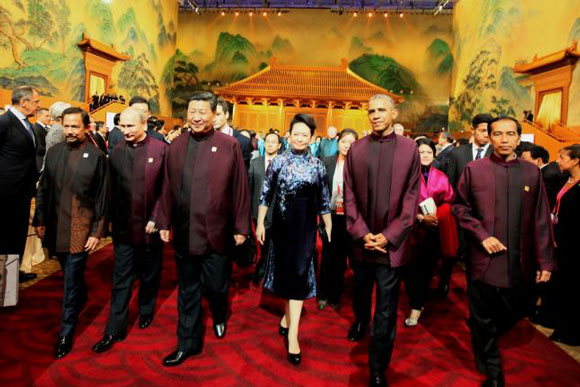 2014 APEC Beijing leaders -580x387
